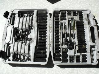 Stanley Socket Set, Like New, SAE & Metric
