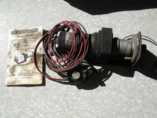 Model T1500 Super Winch w/Remote