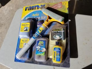 New, Rain-X Auto Glass Care Kit