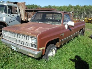 1982 Chev Scotsdale, 6.2 Diesel 4X4, Parts Truck