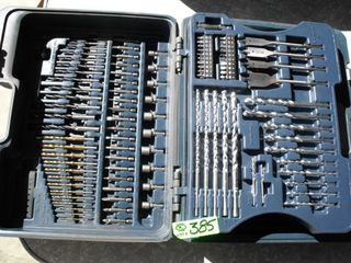 New Drill Bits & Accessory Bits w/ Case