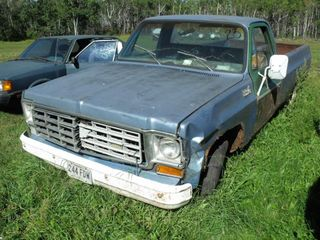 1975 Chev 1/2 Ton Truck, Not Running