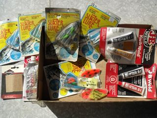 NEW Fishing Hooks & NEW JB Weld Misc Lot