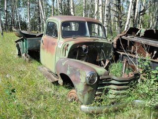 1950 ?? Chev 1/2 Ton Parts, No Motor