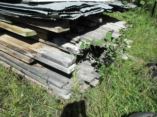 Rough Cut Lumber, 2X6, 1X6, Covered, Large Lot