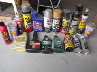 Brake Clean, Oil Treatment, Armour All, & More