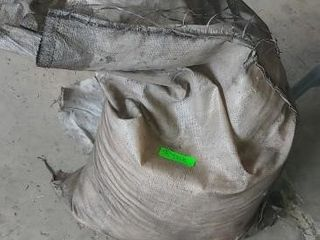 Bag of saw dust