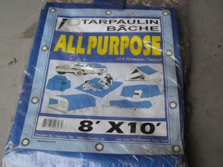 NEW 8X10 All Purpose Tarp