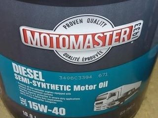 NEW- MotoMaster 15W40 18.9L Diesel Semi-Synthetic