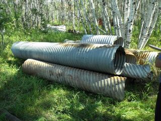 Large Used Culvert Lot