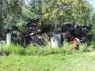 Large Scrap Metal Pile