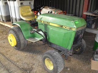 JD 400 Lawn Tractor, Hydrostatic