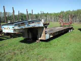 Machinery Trailer, 5th Wheel, With Ramps