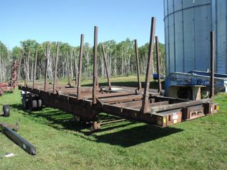 Logging Trailer, 40' Long, Tandem
