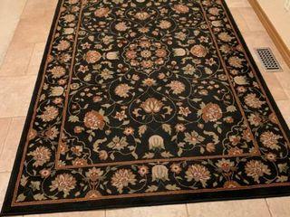 Floral rug 63 x 94