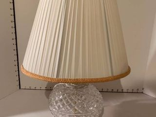 Decorative glass lamp