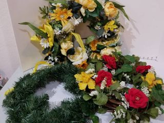 Set of 3 wreaths