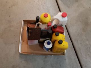 Assorted motor oil and car wash