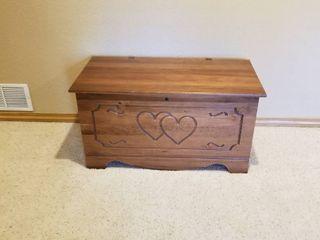 Cedar chest 20 by 37 by 19