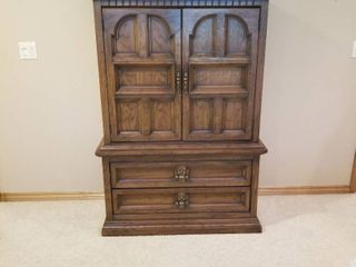 Armoire with drawers 60 by 38 by 17