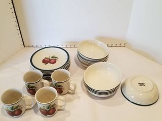 20 piece set of dishware