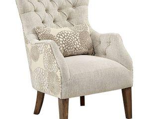 Madison Park Furlong Beige Accent Chair