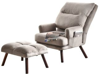 OVIOS Recliner Chair with Ottoman