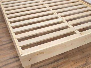Kotter Home Solid Wood Mid century Platform Bed