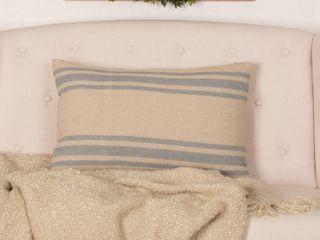 Farmer s Market Grain Sack Stripe Pillow 14 x22