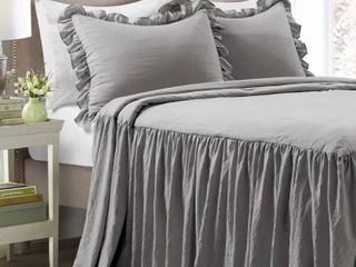 lush Decor Ruffle Skirt Bedspread Set Retail 95 49