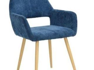 Carson Carrington Iffelna Scandinavian Side Chair   Blue Retail 129 99