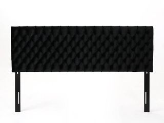 Jezebel Adjustable linen Headboard by Christopher Knight Home   King  Retail 290 99