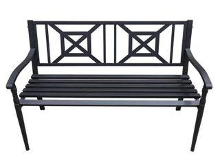 Maypex 4 FT Steel Garden Bench Retail 131 49
