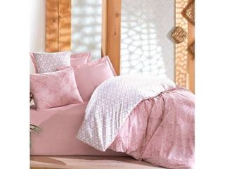 SUSSEXHOME Peach Girl Full Size Duvet Cover Set   Pink  Hypoallergenic Retail 94 49
