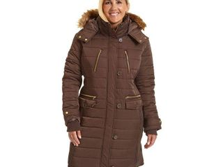Excelled leather Heavyweight Puffer Jacket Plus