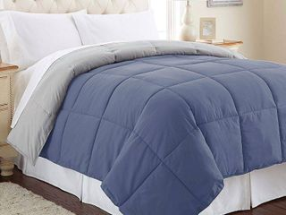 Pacific Coast Textiles Down Alternative Reversible Midweight Comforter King Size