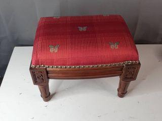 Red Butterfly Footstool  Retail 91 49