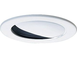 Wall Washer trim for use with 4 in  recessed lighting housings