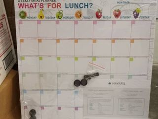 weekly meal planner what s for lunch