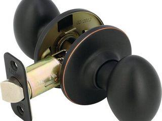 legend 932123 Egg Style Door Knob Hall and Closet Passage lockset  US613 Oil Rubbed Bronze Finish