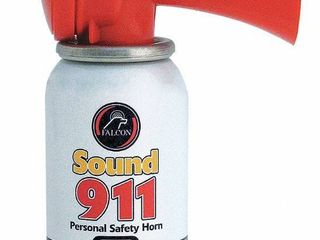 Safety Sound 911 Personal Safety Horn  112db 10 Ft  Blow Horn Air Horn
