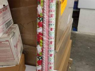 6 rolls wrapping paper hohoho