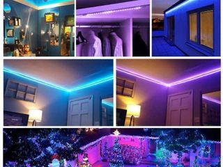 DAYBETTER led Strip lights 32 8ft Waterproof Flexible Tape lights Color Changing