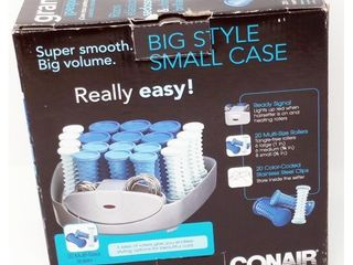 Conair Compact Multi Size Hot Rollers  Blue