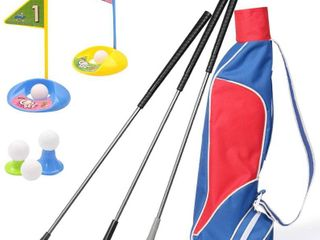 Kids Golf Clubs Set  Exercise N Play Deluxe Happy Young Golfer Sports Kit