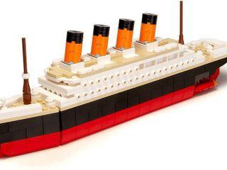 Brick loot Titanic Building Bricks Set  large 390 Pieces  100  Compatible