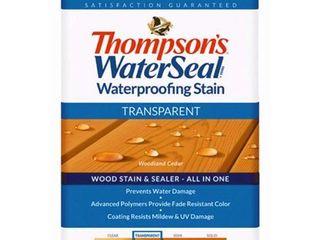 THOMPSONS WATERSEAl TH 041851 16 Transparent Waterproofing Stain  Woodland Cedar