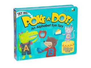 Melissa   Doug Children s Book   Poke a Dot  An Alphabet Eye Spy