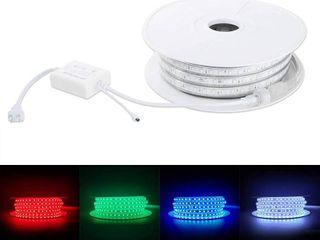 Brillihood Flexible lED RGB Rope light Strip  Multi Color Changing