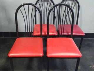 lot of 4 Restaurant Chairs